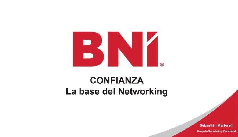 Networking CAEB-BNI. Ponencia principal sobre la CONFIANZA
