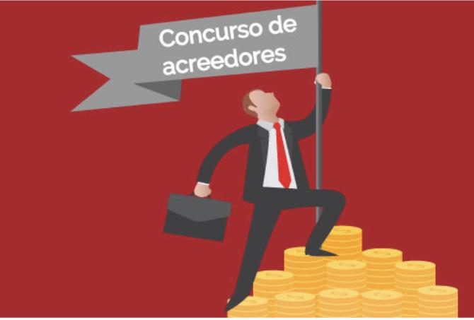 Concurso acreedores, empresario apurado