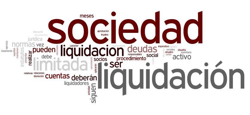 concurso de acreedores finalizacion liquidacion
