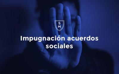 Impugnación acuerdos sociales